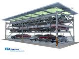 Tipo garage di puzzle di parcheggio astuto