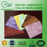 Hojas laminadas de alta presión del color sólido (HPL 1030)