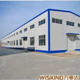 鉄骨構造の研修会または倉庫または鋼鉄建物ISO 9001の軽い鉄骨フレームの構造