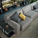 Sofà modulare classico del tessuto di idea del salone con il bracciolo (F629-6-1)