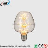 세륨 ST64는 백색 에너지 절약 3W LED 별 전구를 데운다