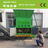 Os sacos filmam a máquina plástica do shredder do único desperdício do eixo para a venda