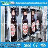 ビールのための自動ガラスビンの洗浄の満ちるキャッピングのパッキング機械