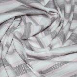 Baumwolle 190GSM/Rayon/Spandex-Garn gefärbtes Streifen-Vorgespinst Jersey