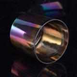 Multi покрашенная свечка Jars стеклянная тара