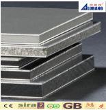 El panel compuesto de aluminio certificado Ce del surtidor PVDF de China (ALB-075)