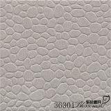 Azulejo gris del cuarto de baño de la Lleno-Carrocería del guijarro del suelo antideslizante de Matt de la porcelana (300X300m m)