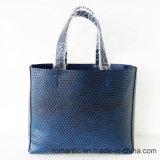 L'unità di elaborazione delle donne del progettista di marca ha impresso le borse con il sacchetto impostato (NMDK-050203)