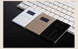 H1 Ultra Thin Mini Celular 1.3 polegadas Single SIM Touch Keyboard Card Mobile Phone Low Radiation