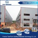 Vorfabriziertes Stahlkonstruktion-Rahmen-Gebäude am Industriegebiet