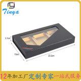 Joyería de encargo de la ventana del PVC/rectángulo de papel del anillo/del collar/de la pulsera/de regalo de los pendientes