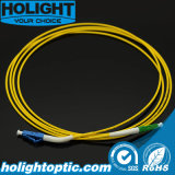 LC à la fibre uni-mode recto Patchcord de Lca 2.0mm
