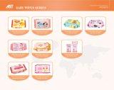 Spunlace nichtgewebtes Baby-nasse Wischer 80 PCS