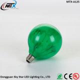 Kreatives hellrotes gelbes Grün-Schwarzes LED, das Glühlampe anstreicht