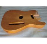 Carrocería tele Finished nitro envejecida aliso de la guitarra de la naturaleza de 2 pedazos