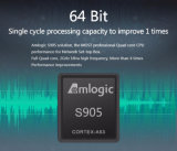 2017 Hete Mxq PROAmlogic S905X Androïde 6.0 Kodi 17.0 1g 8g de Slimme Doos van Media/Vastgestelde Hoogste Doos