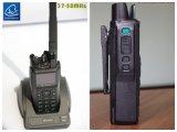 GPS 전시와 더불어 37-50MHz에 있는 P25 디지털 라디오, 와 GPS는 기능을 알린다