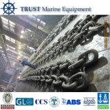 Цепь нержавеющей стали анкера соединения стержня для корабля с CCS, ABS, Lr, BV