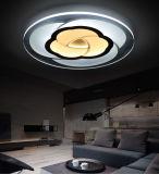 Commercio all'ingrosso moderno acrilico della fabbrica dell'indicatore luminoso di soffitto di 2017 modi LED