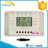 регулятор обязанности 20A 12V/24V солнечный с раковиной металла, индикацией M20 LCD