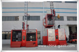 Gaoli Hot Sale Safety Sc200 / 200 General Construction Hoist / Elevador de construção
