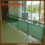 304 нержавеющая сталь и стекло Railing лестницы Inoodr древесины (SJ-633)