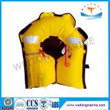 Спасательные жилеты качества 150n Solas хорошие раздувные с сертификатом Ce для сбывания