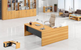 Combinaison gratuit Big Corner bois Bibliothèque de bureau