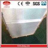 Gebäude-Fassade-verstärken plattiertes externes Baumaterial mit Rippe