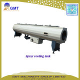 A água de PE63-800 PP/Gás-Fornece a extrusora de parafuso gêmea plástica da tubulação/câmara de ar