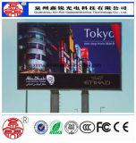 高品質P10広告のための屋外のフルカラーのLED表示パネル