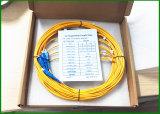 Coupleur optique de la fibre 1350nm de la longueur d'onde 1310, 2 à 1 taux optiques 10/90 de couplage de diviseur