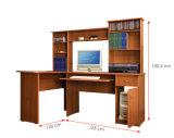 Bureau en bois moderne d'ordinateur de meubles de bureau de laboratoire de bibliothèque d'école (HX-DR001)