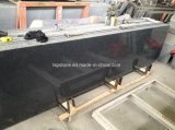 G654 China Dark Impala Gray Granite Slabs
