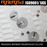 etiqueta tamaño pequeño de la etiqueta engomada de la impresión en color NFC de 13.56MHz RFID