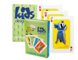 Cartões de jogo americanos do póquer da classe do projeto dos miúdos