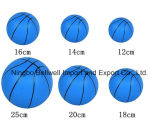 Baloncesto del estilo del juguete del PVC el mini modificó baloncestos para requisitos particulares coloreados