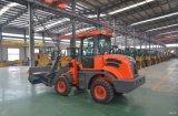 Mini cargador de la rueda de 1.2 toneladas con el motor de EPA Europe3