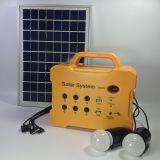 Sistema solar portátil do fornecedor da fábrica mini