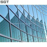 Bajo vidrio E, reflexivo vidrio de diferentes tamaño y espesor