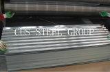 電流を通された波形の屋根ふき版か電流を通された鋼鉄屋根シート