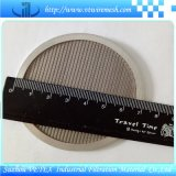 Disco del filtro usado para filtrar el sólido
