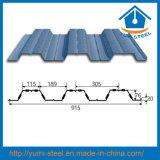 Гальванизированные листы Decking поддержки стального пола для высоких зданий подъема