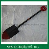 Forcella d'acciaio della pala della maniglia di stile russo agricolo dello strumento