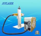 Máquina portable económica de la marca del laser de la fibra 10W