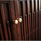 Governo impermeabile di legno dello specchio della stanza da bagno della cenere solida (GSP14-014)