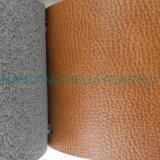 ソファー袋の靴のMicrofiberファブリックに使用するPU Microfiberの革