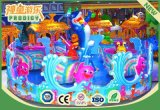 Juguetes para niños Ocean Animal Ride Carousel Playground Equipment