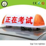 Type neuf belle DEL annonçant le cadre léger de taxi de dessus de toit de panneau-réclame