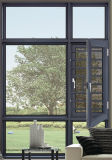 Китай сделал алюминиевое французское окно Casement с дешевым ценой